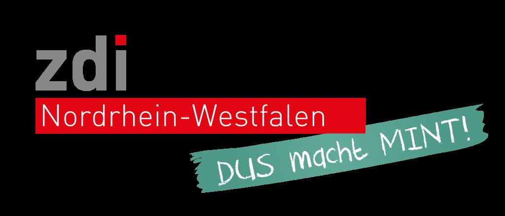 Logo des zdi Düsseldorf DUSmachtMINT Nordrhein-Westfalen