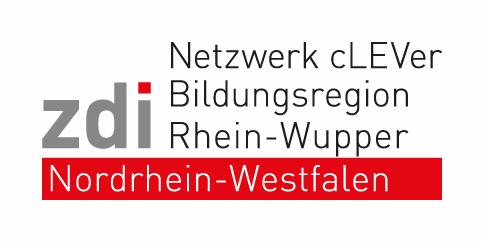 ZDI Leverkusen Rhein Wupper Logo + Text